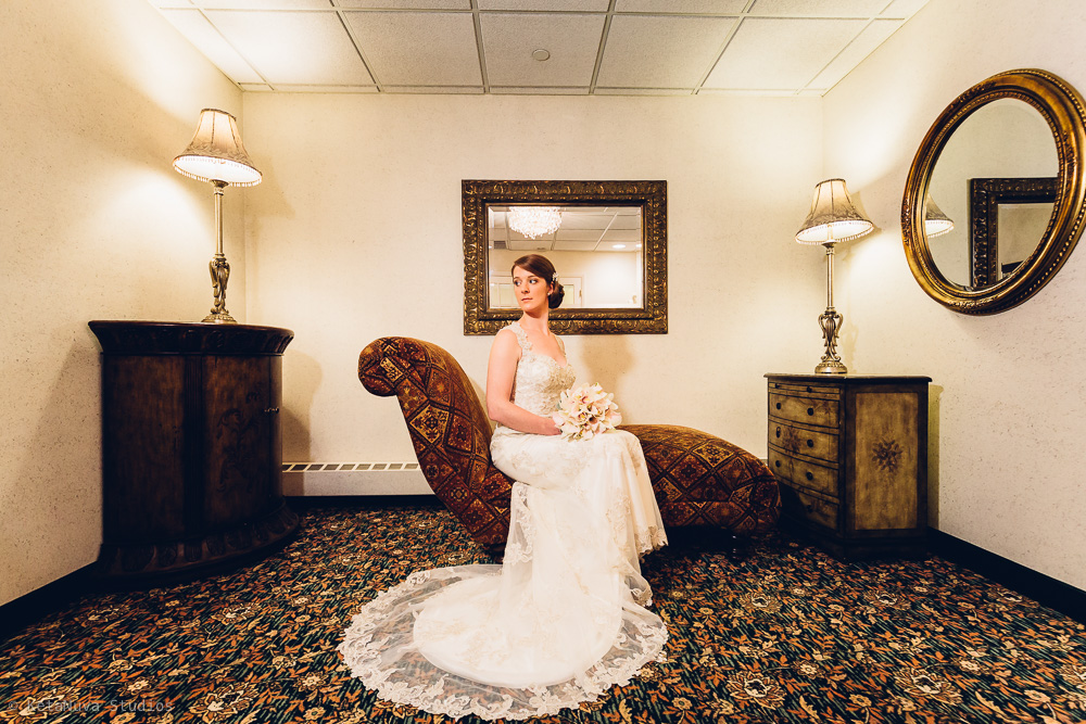 Perona Farms wedding - bridal portrait