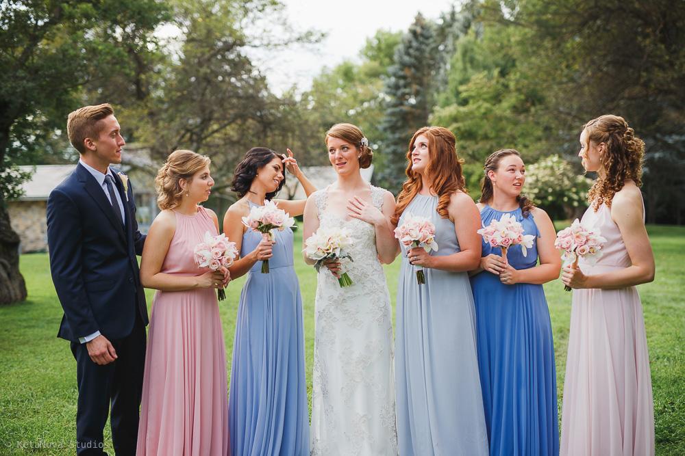 Perona Farms wedding - bridesmaids photos