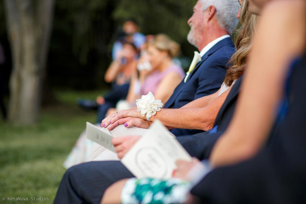 Perona Farms wedding - the guests.