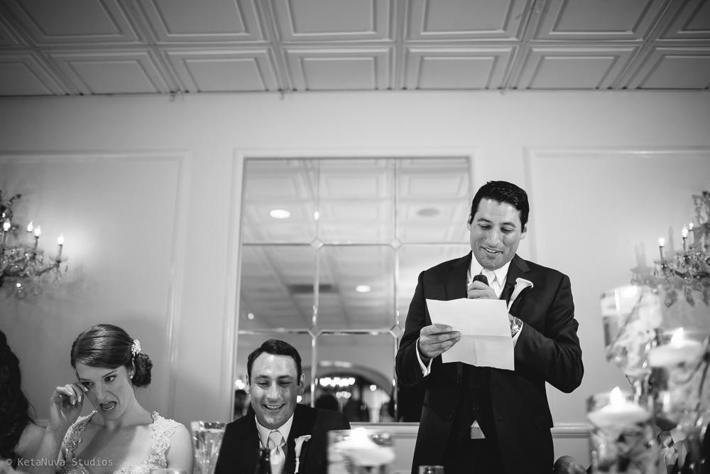 Perona Farms wedding - speech by the best man.