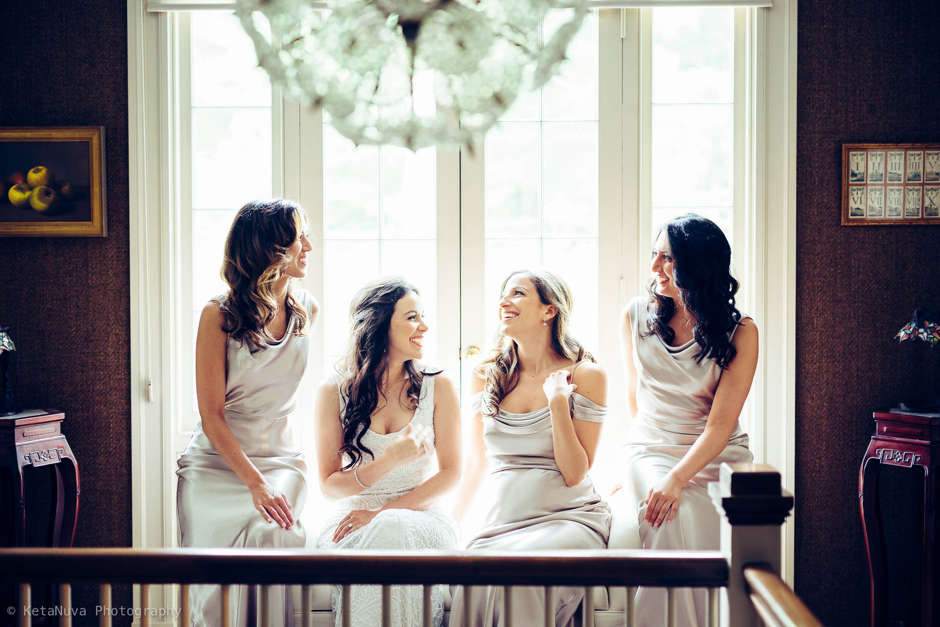 "Candid moment among the bridesmaids"" width=""1860"" height="