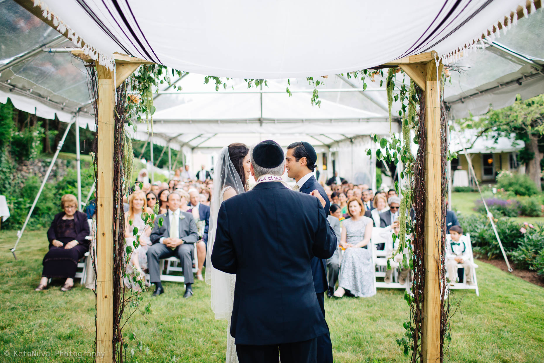 "An interesting perspective from behind the Chuppah"" width=""1860"" height="