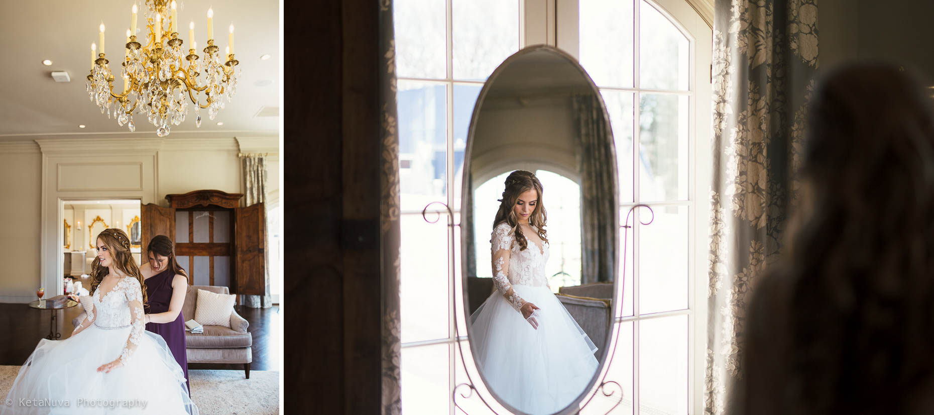 Getting ready pictures - Park Chateau Estate wedding